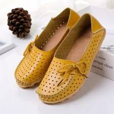 CPI <b>Genuine Leather Summer Loafers</b> Women Casual Shoes ...