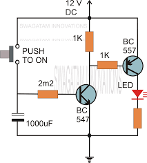simple delay timer circuits explained electronic circuit projects the following circuit shows how the associated push button be rendered inactive as soon as it s pressed and while the delay timer is in the activated