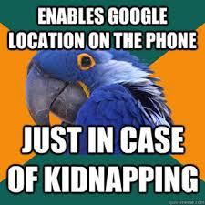 Paranoid Parrot – 26 Funny Memes | Badass Memes.Com via Relatably.com