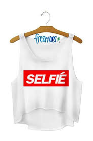 <b>Selfie</b> Crop Top - Fresh-tops.com