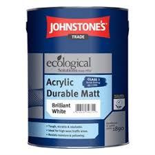 Купить <b>Acrylic Durable</b> Matt Brilliant White <b>JOHNSTONES</b> ...