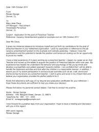 cover letter for preschool teacher  seangarrette copreschool teacher cover letter sample how to write a resume cover letter for preschool teacher sample cover letter for education teaching   cover letter
