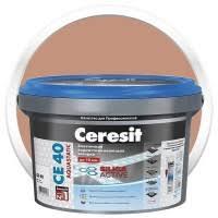 <b>Затирка цементная для швов</b> Ceresit CE 40 Aquastatic светло ...