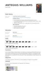 customer service assistant resume samples   visualcv resume    customer service assistant resume samples