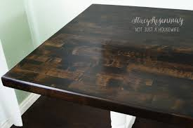 Restaining Kitchen Table How To Refinish A Table Stacy Risenmay