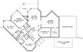 Stone Pond House Plans   Home Plans By Archival DesignsStone Pond House Plan   Luxury sq ft House   Castle Lakefront Home Plan