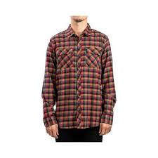 Rip Curl <b>Mens</b> Casual Shirt Flannel Button Up - Multi (M), <b>Men's</b> ...