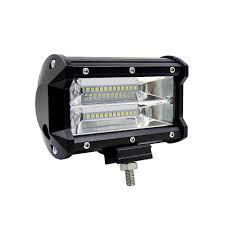 <b>7inch 120W LED</b> Light Bar Spot <b>Flood</b> Combo Beam <b>Work</b> Driving ...