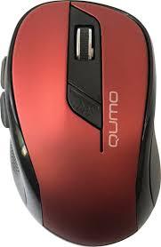 <b>Мышь Qumo Office Line</b> Red M62, красный, черный — купить в ...