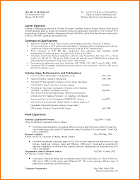 objective summary example assistant cover letter objective summary example resume objective simple summary of qualifications feat achievements and publications letter png