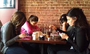 Image result for girls on their phone tumblr