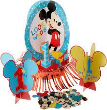 amscan Disney Mickeys <b>Fun</b> to be One Table Decorating <b>Kit</b> ...