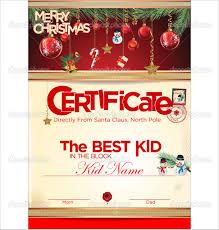 certificate santa gift certificate template templates santa gift certificate template medium size