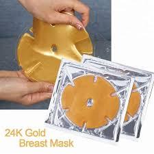 <b>Маска</b> золото коллагеновая для ГРУДИ Gold <b>Crystal</b> Breast Mask ...