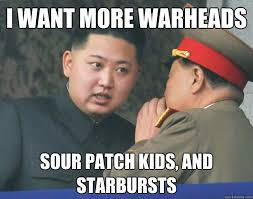 I want more warheads sour patch kids, and starbursts - Hungry Kim ... via Relatably.com