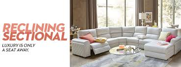 alessandro leather sectional living room furniture
