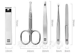 <b>Маникюрный набор Xiaomi Huo</b> Hou Stainless Steel Nail Clipper Set