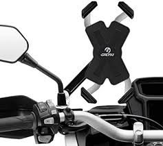 Grefay <b>Motorcycle</b> Mobile Phone Holder <b>Stainless Steel</b> Automatic ...