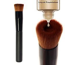 Concave Liquid <b>Foundation Brush</b> BB Cream <b>Single</b> Makeup ...