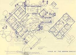 images about famous floorplans on Pinterest   Floor Plans    Artist Mark Bennet takes the classic sitcom homes of yore and drafts real life blueprints  It    s a Build Your Own Addam    s Family plan  Which  as I don    t need