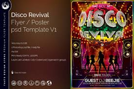 disco revival flyer template tds psd flyer templates disco revival flyer template disco revival flyer template psd design for photoshop