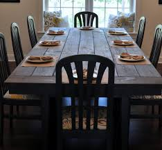 real rustic kitchen table long: farmhouse table remix how to build a farmhouse table