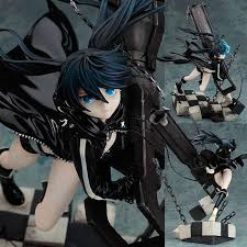 20cm <b>Black Rock</b> Shooter <b>Japanese anime</b> figure Dark Miku Strike ...