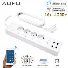 <b>Умный сетевой фильтр</b> AOFO smart power strip-925b