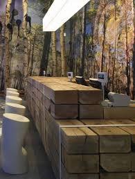 reception desks made of wood awesome custom reclaimed wood office desk