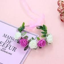 <b>Women Girls</b> Wrist Corsage Wristband Contrast Candy Color 5 ...
