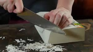 SAMURA SAKAI kitchen <b>knife</b> cut test / Тестирование <b>ножа</b> Samura ...