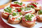 Бутерброды на праздничный стол быстро и вкусно