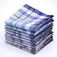 <b>5Pcs</b> Multicolor Plaid Stripe Men Pocket Squares Business Chest ...