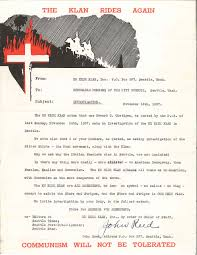 america for americans letter from the klan the daily dispatch ku klux klan letter 1937