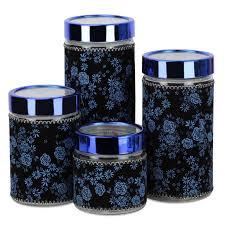 <b>Набор банок для сыпучих</b> продуктов Kelli, 289B, синий, 4 шт ...