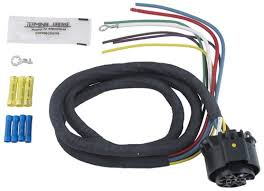 universal wiring harness for hopkins multi tow vehicle end trailer universal wiring harness for hopkins multi tow vehicle end trailer connectors 4 long hopkins accessories and parts hm40985