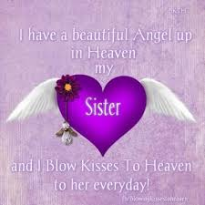 Missing My Sister In Heaven Quotes | Christmas book markers ... via Relatably.com