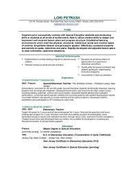 gallery of sample resume templates for teachers free resume sample for teaching