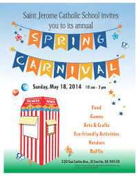 spring carnival flyer template images spring carnival flyer template