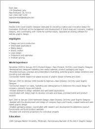 professional entry level graphic designer templates to showcase    resume templates  entry level graphic designer