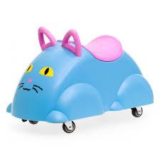 <b>Каталка Vikingtoys</b> Кошка с ручками и контейнером для хранения ...