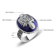 Online Shop The Vampire Diaries Rings <b>Real 925 Sterling Silver</b> ...