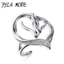 <b>FYLA MODE 999Silver</b> Thai Silver Hollow Finger Ring Vintage ...