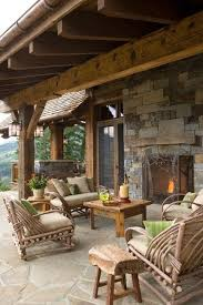 building inexpensive rustic outdoor rustic setting outdoor patio post on how to make your own outdoor porc