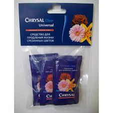 Средство для продления жизни <b>срезанных</b> цветов Chrysal Clear ...