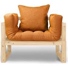 Купить <b>Кресло Anderson</b> Амбер сосна-оранжевая рогожка ...