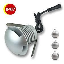 3W <b>LED</b> Buried <b>Light DC</b> 12V 24V Waterproof <b>Underground Lamps</b> ...