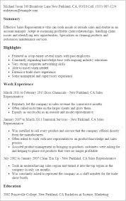 professional sales representative templates to showcase your    resume templates  sales representative