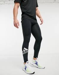 Черные спортивные леггинсы с логотипом <b>adidas</b> Training ...