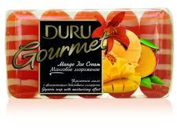 Мыло <b>DURU</b> Gourmet Манговое мороженое эконом пак 5*75г ...
